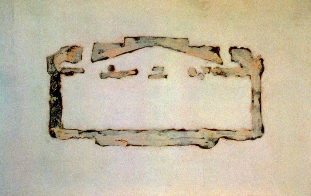 Ela que não está III (Casa do Giotto branca)