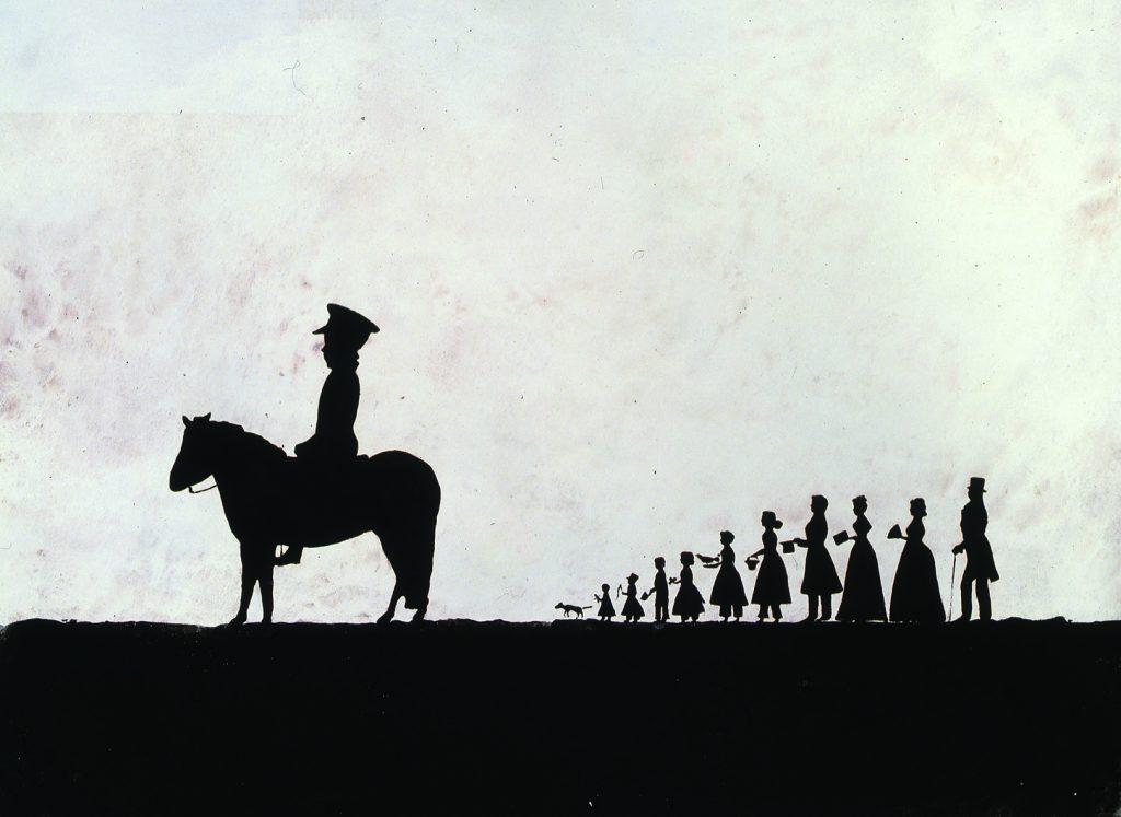 Small Parade (Parada com fundo branco)
