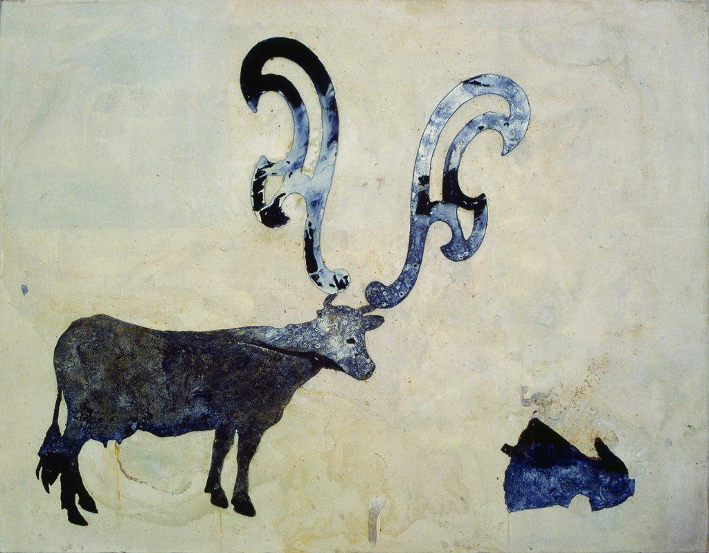 Sem título (Vaca com chifres curva francesa e corpinho)