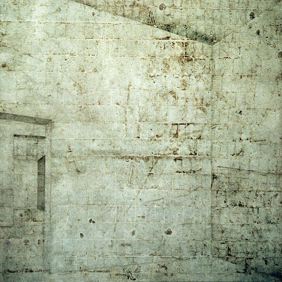 Sem título (Kassel, chão ateliê LIC, azul pequeno, Rio)