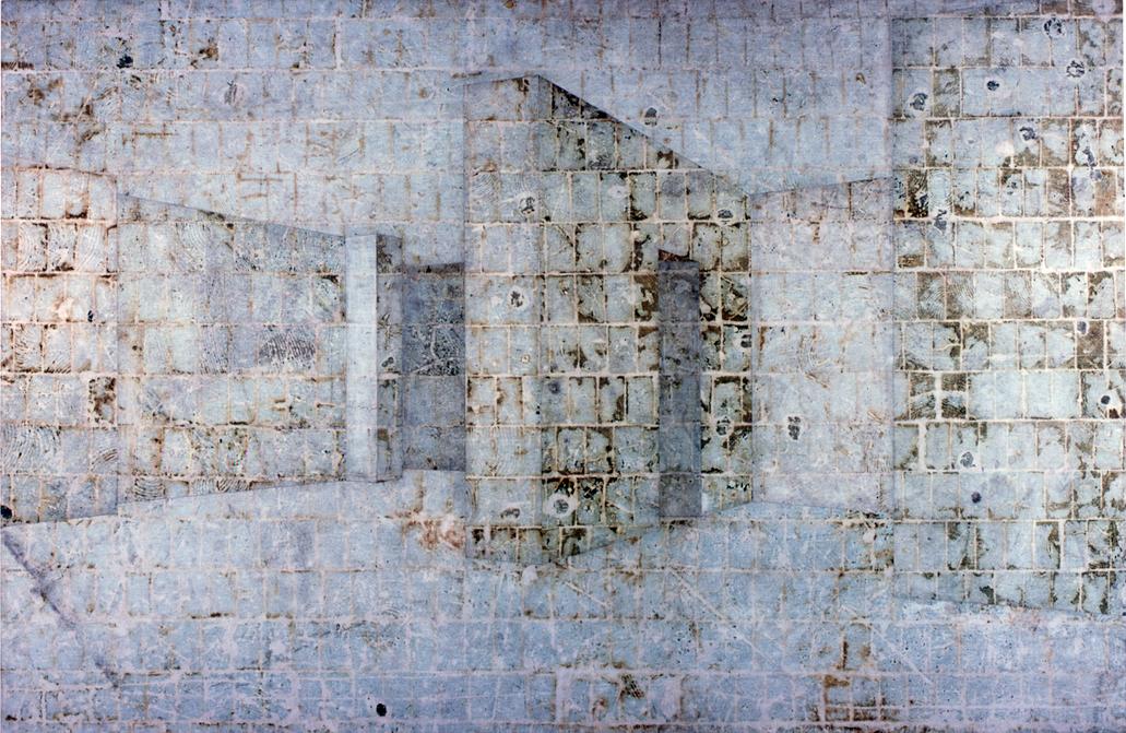 Haus Lange, Krefeld (Museu Alemanha, chão studio LIC, azul, Rio)
