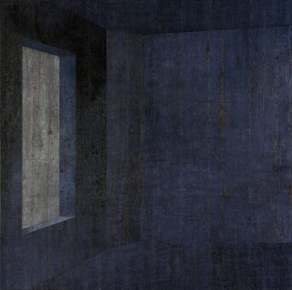 Lull 3 (Espaço azul com janela a esquerda)