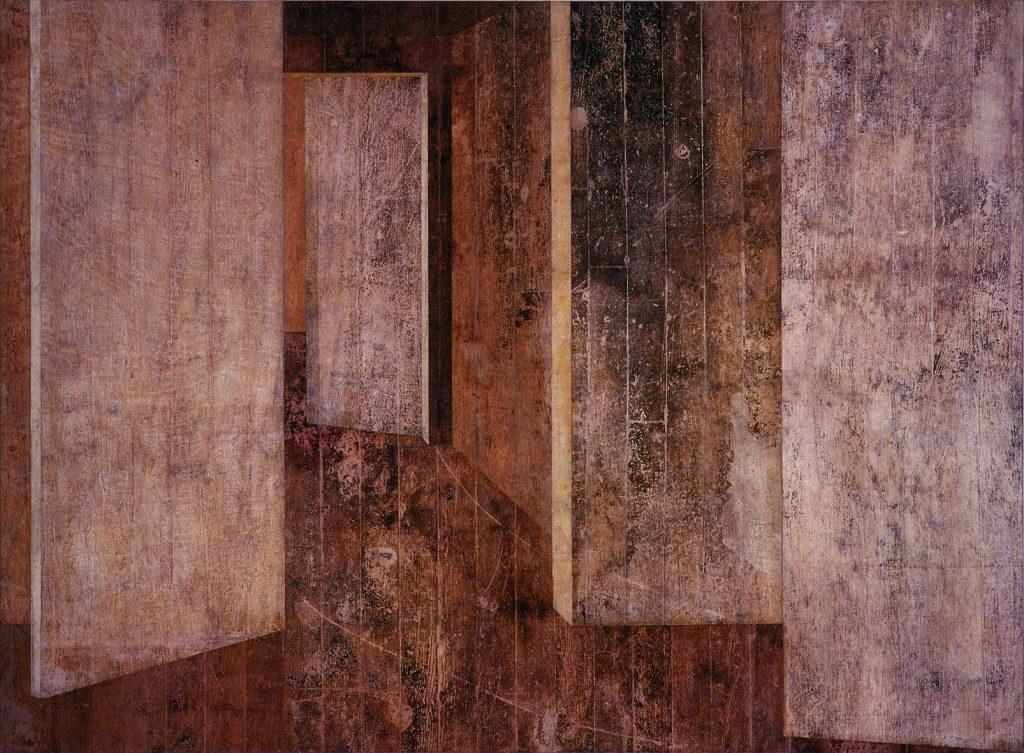 """Hammershoi (Chão """"The Piano Factory amarelo - Rio)"""