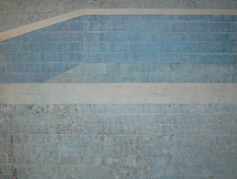 Pool I (Piscina azul mais acima da tela)