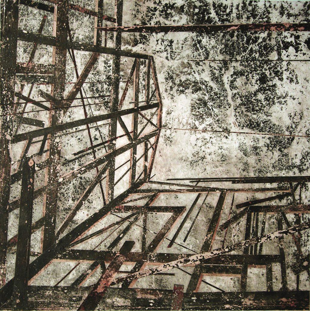 Poça I (Casa em ruinas vista de baixo para cima)