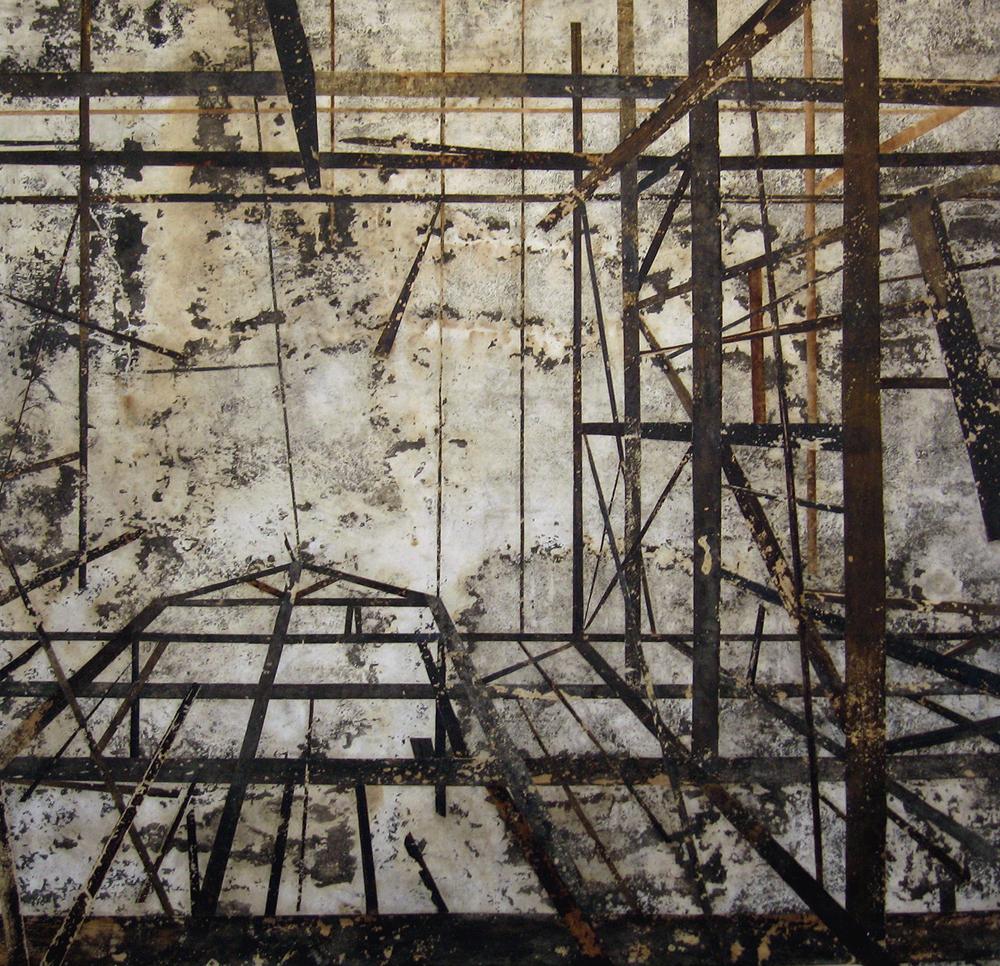 Poça III (Casa em ruinas vista de baixo para cima)