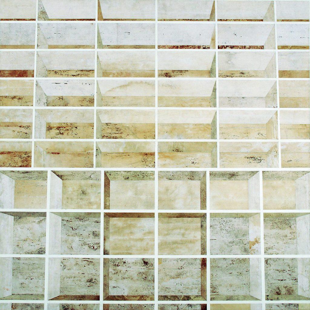 1 AM (Estantes brancas, vista central, escalas diferentes)