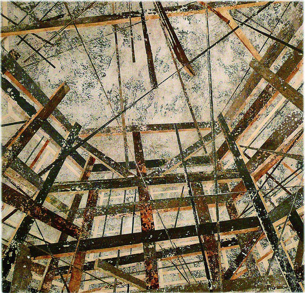 Sem Titulo (Estruturas vistas do chão - construção)