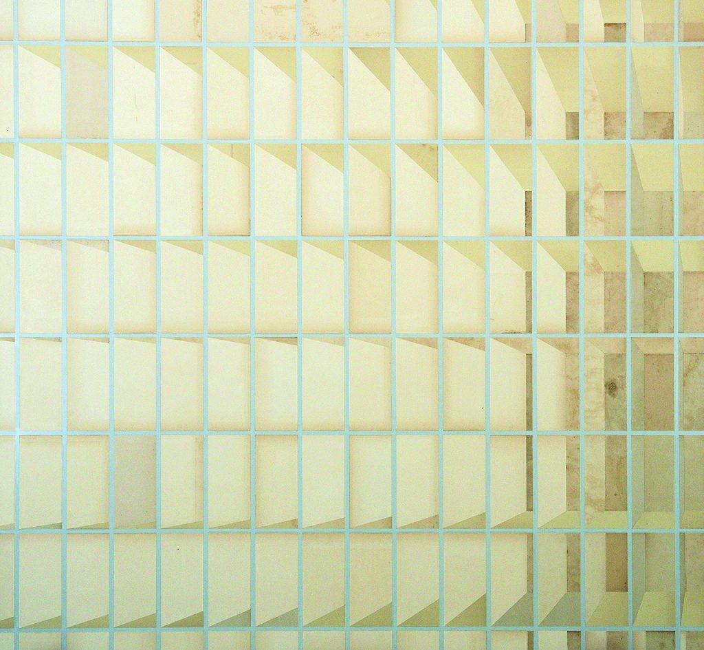 Skira III (Escaninho de papel quadrado, branco)