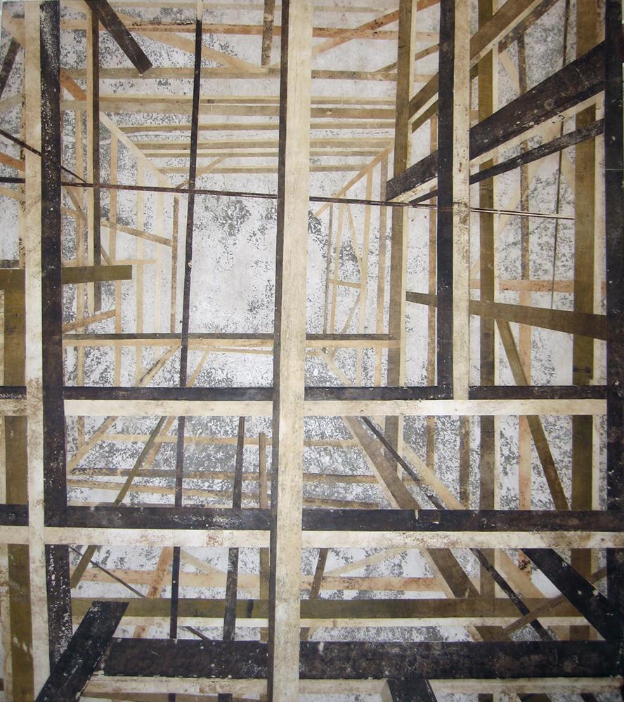 Mono (Construção quadrada vista de cima, pf no centro)