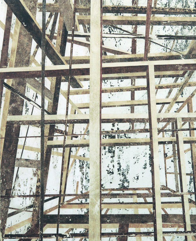 Um (Estrutura de madeira quadrada em níveis)