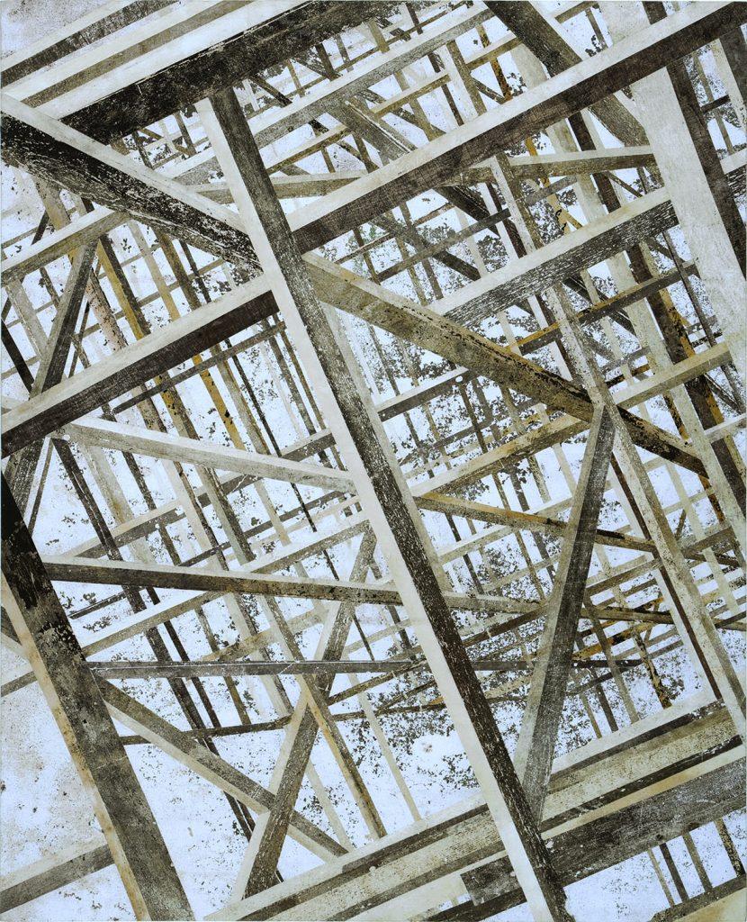 Z (Estrutura de madeira na diagonal)