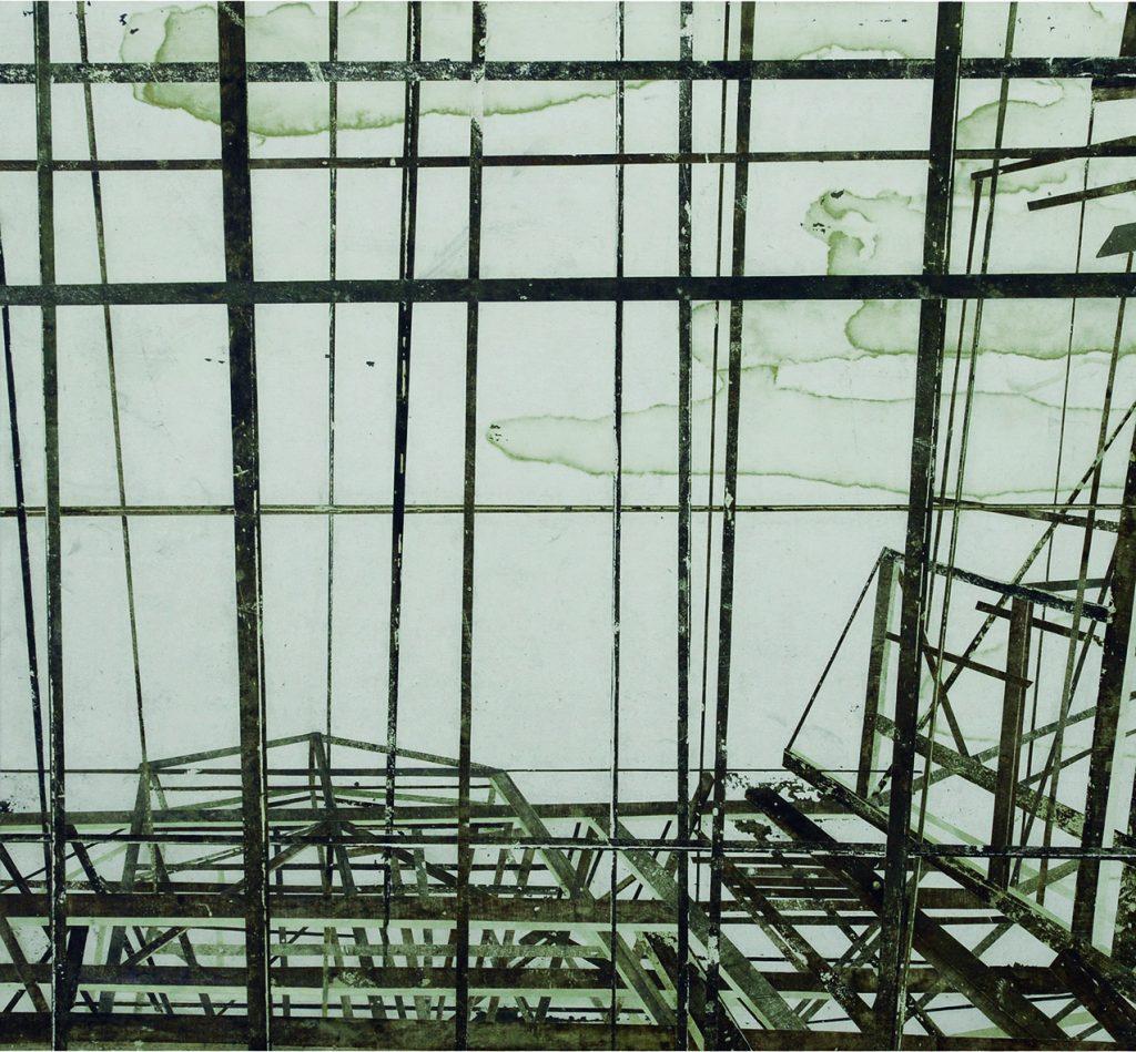 UWS (Estrutura de madeira com mancha nuvem)