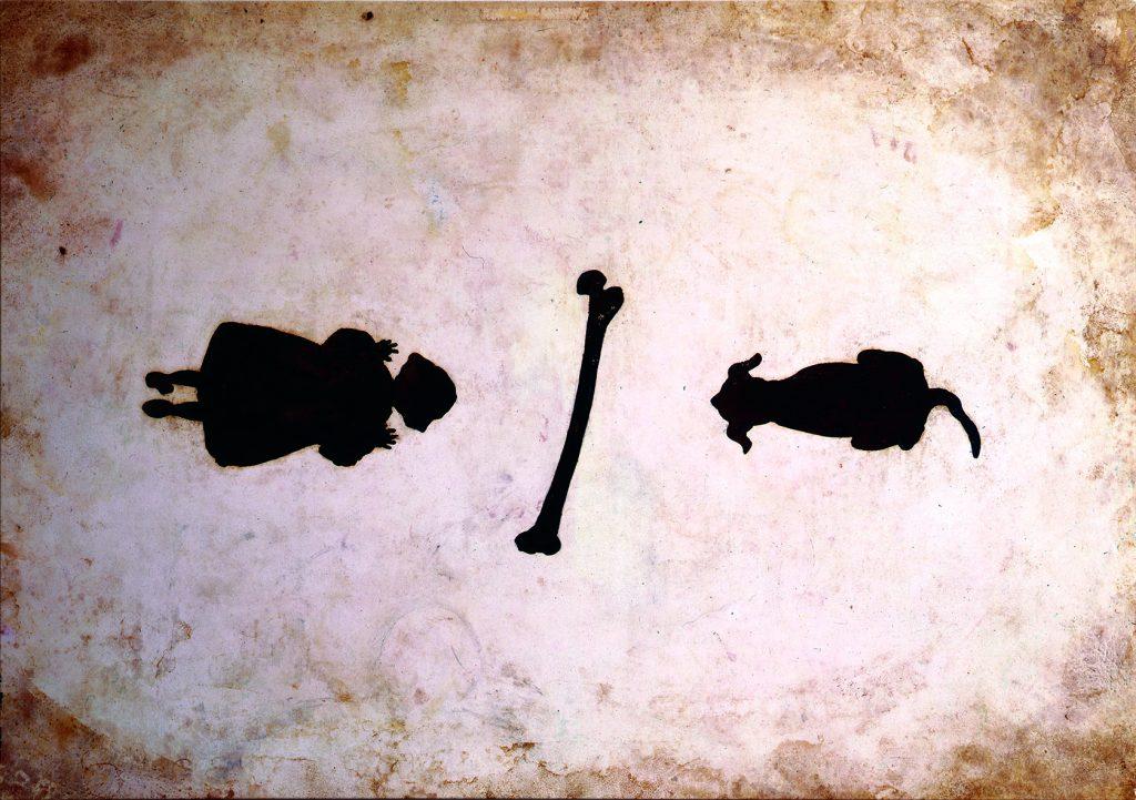Menina/osso/cão (Menina, osso, cão - equação)