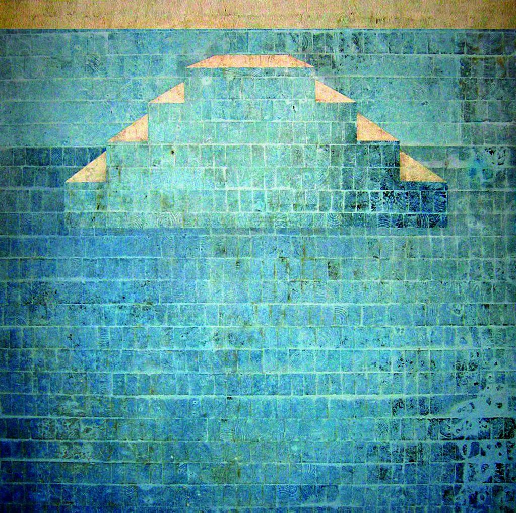 EAV (Escada de piscina de frente)