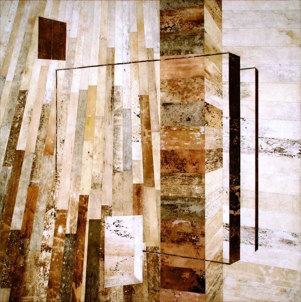 Reino II (Quadrada, perspectiva, linhas, janelas, parede vazada)
